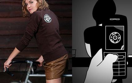על כל חולצה של W-41 מוטמע לוגו ייחודי
