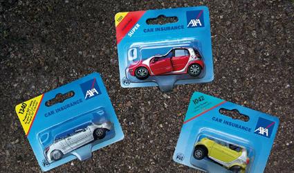 סדרת מכוניות הצעצוע של AXA