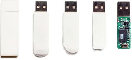 Eraser USB memories stick - דיסק און קי עם מעטפת של מחק