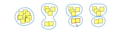 Bubble - קונספט ממשקי לביצוע בחירות מורכבות על מסכי מגע