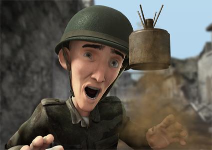 מתוך סרטון האנימציה התלת מימדי בתוך הראש