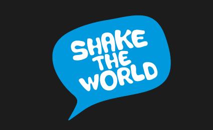 לוגו להרעיד את העולם