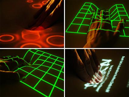 ממשקים שעוצבו למסך מגע גמיש