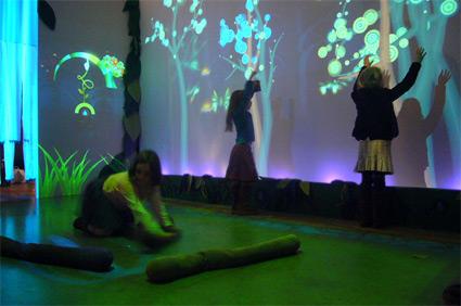 פאנקי פורסט - חלל אינטראקטיבי לילדים