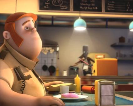 מתוך סרטון האנימציה התלת מימדי קפה סרה
