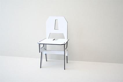 חלקי הכסא שמורכב מהמילה כסא