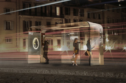 eyestop - תחנת אוטובוס אינטראקטיבית