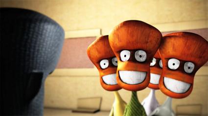 מתוך סרטון האנימציה נשף המסיכות