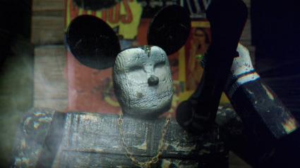 ראש ארגון הפשע בקליפ של נאסא מזכיר את מיקי-מאוס