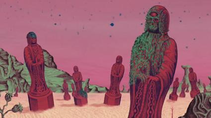 מתוך קליפ האנימציה Parachute Ending של בירדי נאם-נאם