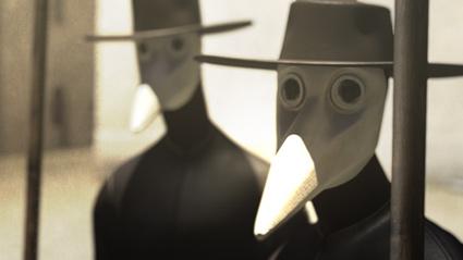 מתוך סרטון האנימציה הצרפתי La Pesta