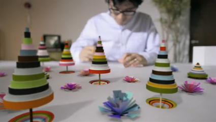 מתוך סרטון הקופסא הלבנה של המעצב מאקוטו יאבוקי היפאני