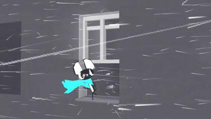 על אדן החלון - מתוך סרטון האנימציה בבקשה תאמר משהו