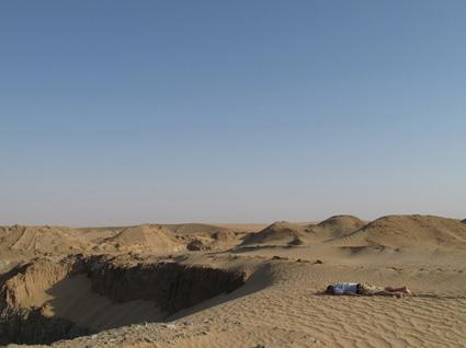 טום פיליפס מת במדבר בסודאן