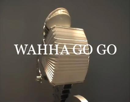 וואהא גו גו - רובוט מכאני צוחק