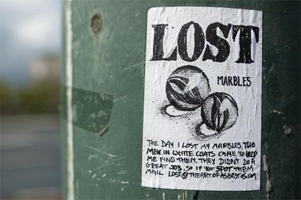גולות אבודות מתוך פרוייקט Lost של אסבסטוס