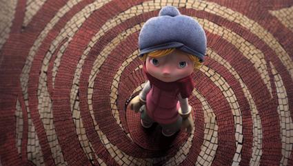 מתוך סרטון האנימציה אלמה של רודריגו בלאס