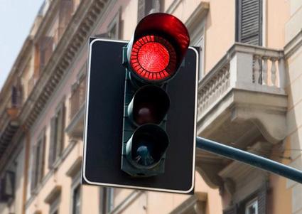 Eko Stoplight רמזור עם חיווי גרפי של זמן