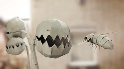 יצורי אוריגמי בתלת-מימד במלחמות הנייר הגרמני