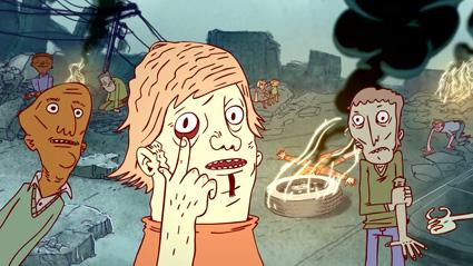 מתוך סרטון האנימציה פיליפ ביצת הבטיחות