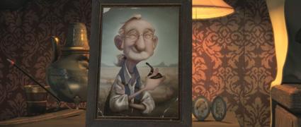 מתוך סרטון האנימציה הספרדי הגברת ומלאך המוות