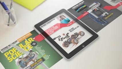 מגזין Popular Science בגירסה אינטראקטיבית ל-iPad