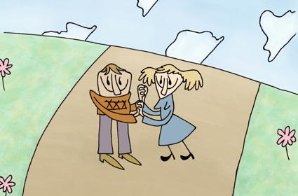 מתוך סרטון האנימציה לאחור של אהרון יוז
