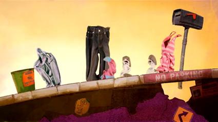 מתוך סרטון האנימציה סיפורי גרביים של קרלו ווגל