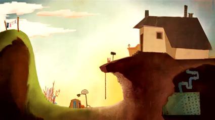 לונג שוט מתוך סרטון האנימציה סיפורי גרביים