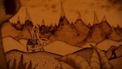 מתוך קליפ הסטופ-מושיין כשאהיה מלך של טים נול