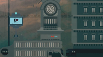 מתוך קליפ האנימציה החיים המודרניים של קדברה אקי