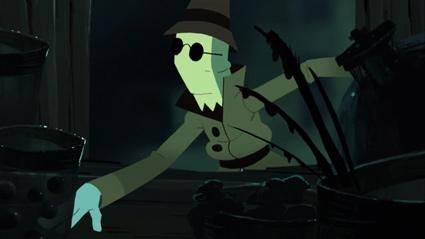 החיפוש מתחיל בסרטון האנימציה מי מפחד מאדון גרידי