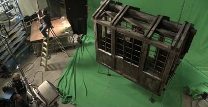 סט צילום מאחורי הקלעים של משחקי הכס