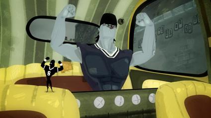 מתוך סרטון האנימציה קופסא שחורה של יאיר גורדון