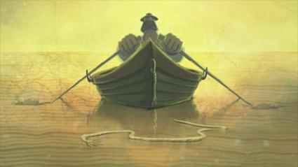 מתוך סרטון האנימציה מים שקטים של נטלי דוודאספאני